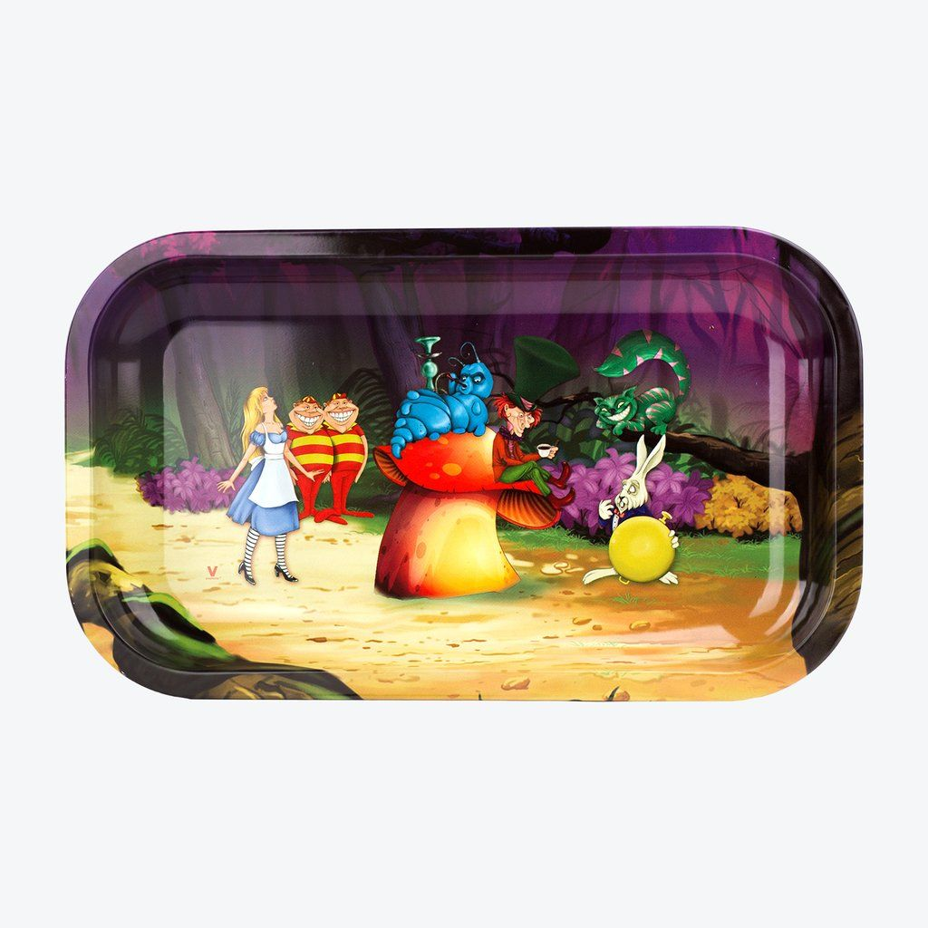 Alice In Grinderland Forest Rolling Tray Large