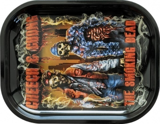 Cheech And Chong Metal Rolling Tray Small